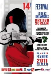Affiche Festival Ecrans Britanniques 2011