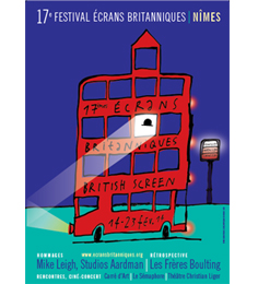 Affiche Festival Ecrans Britanniques 2014