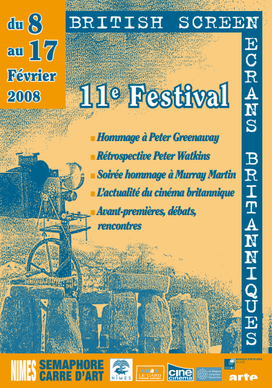 Affiche Festival Ecrans Britanniques 2008