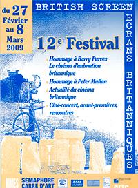 Affiche Festival Ecrans Britanniques 2009