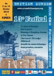 Affiche Festival Ecrans Britanniques 2010
