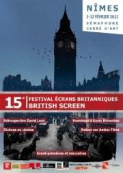 Affiche Festival Ecrans Britanniques 2012