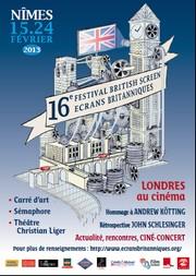Affiche Festival Ecrans Britanniques 2013